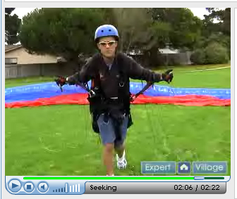 How to Forward Launch a Paraglider